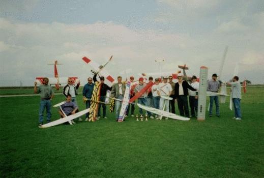 1992 Vereinswettkampf 05 Teilnehmer